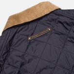 Мужская стеганая куртка Barbour Canterdale Quilt Navy фото- 5