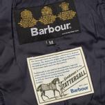 Мужская стеганая куртка Barbour Canterdale Quilt Navy фото- 6