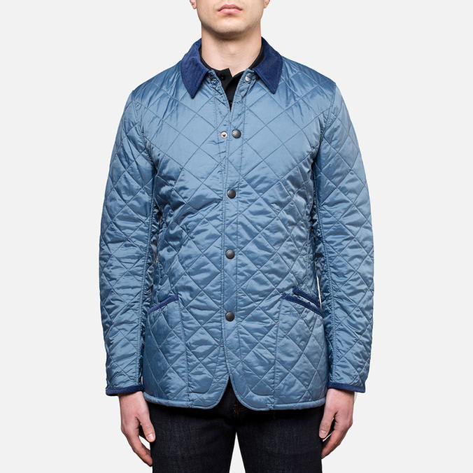 Мужская куртка Barbour Chip Lifestyle Quilt Dark Chambray