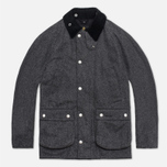 Barbour Herringbone SL Bedale Jacket Black photo- 0