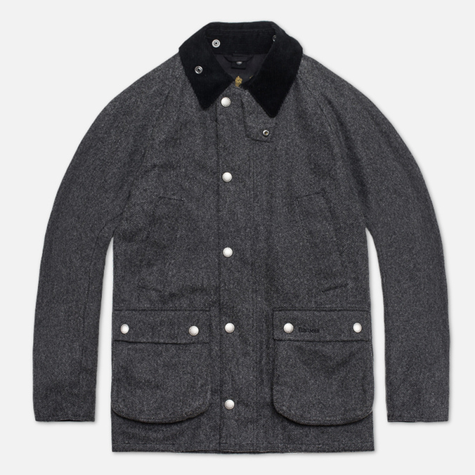 Barbour Herringbone SL Bedale Jacket Black