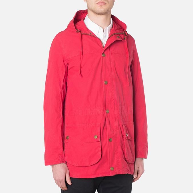 Мужская куртка Barbour Japanese Overdyed SL Durham Red