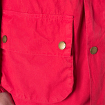 Мужская куртка Barbour Japanese Overdyed SL Durham Red фото- 7