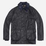 Мужская куртка Barbour Japanese Wax SL Bedale Navy фото- 0