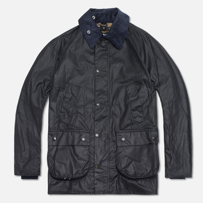 Мужская куртка Barbour Japanese Wax SL Bedale Navy