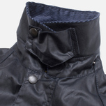 Мужская куртка Barbour Japanese Wax SL Bedale Navy фото- 1