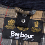 Мужская куртка Barbour Japanese Wax SL Bedale Navy фото- 7