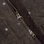 Мужская куртка Barbour Traction Olive фото- 3