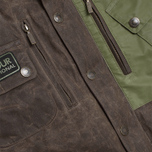 Мужская куртка Barbour Traction Olive фото- 2