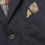 Мужская стеганая куртка Barbour Windsor Quilt Navy фото- 2