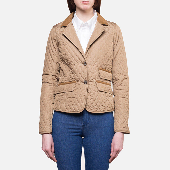 Женская куртка Barbour Downham Quilted Sandstone