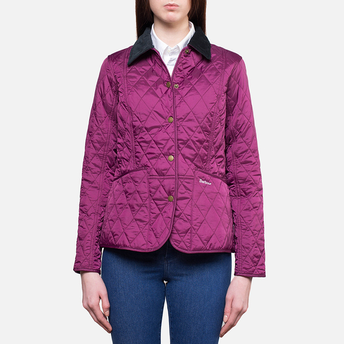 Женская куртка Barbour Prism Quilt Blackcurrant