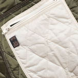 Barbour Prism Quilt Pearl/Olive photo- 8