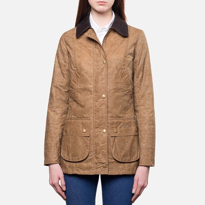 Женская куртка Barbour Vintage Advert Bead Bark