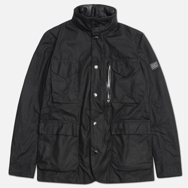 Мужская куртка Barbour x Land Rover Birkly Black