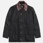 Мужская куртка Barbour x Land Rover Carraw Navy фото- 0