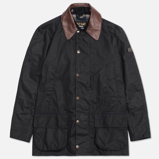 Мужская куртка Barbour x Land Rover Carraw Navy