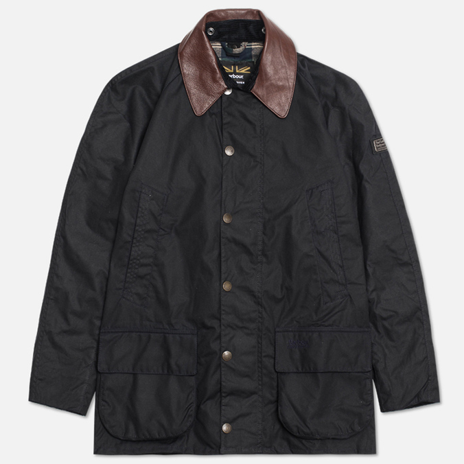 Мужская куртка Barbour x Land Rover Carraw Navy