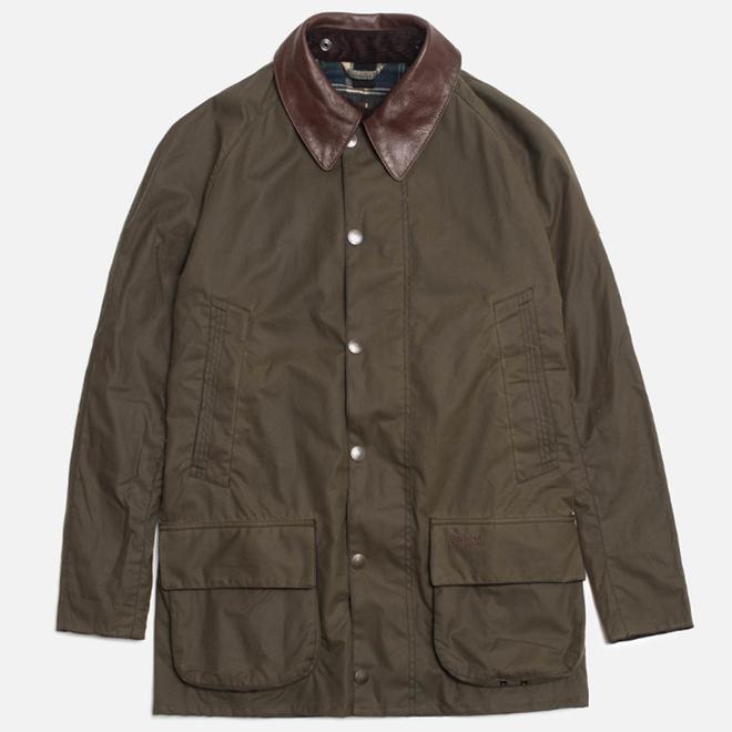 Мужская куртка Barbour x Land Rover Carraw Olive