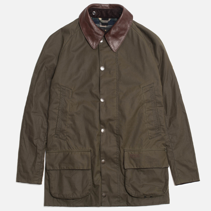 Мужская куртка Barbour x Land Rover Carraw Olive