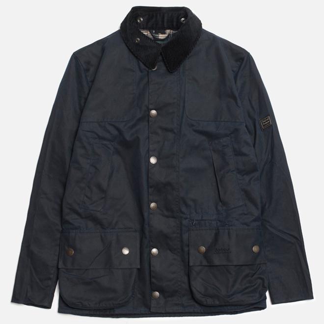 Мужская куртка Barbour x Land Rover Chartner Navy