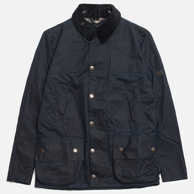 Мужская куртка Barbour x Land Rover Chartner Navy