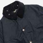 Мужская куртка Barbour x Land Rover Chartner Navy фото- 1