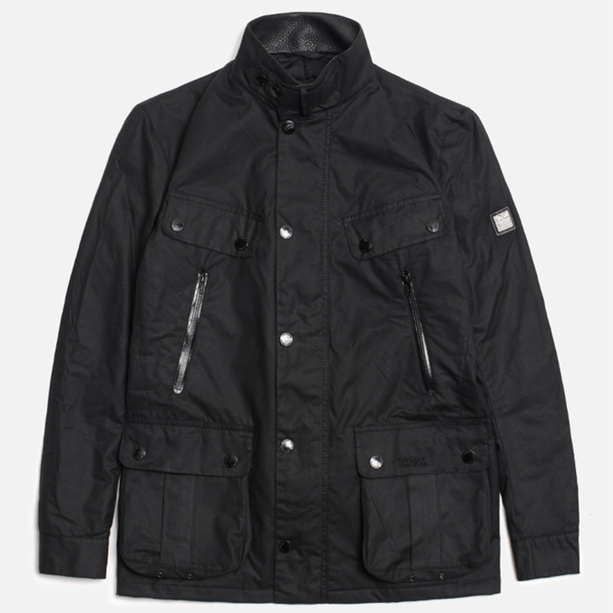 Мужская куртка Barbour x Land Rover Falstone Black