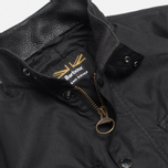 Мужская куртка Barbour x Land Rover Falstone Black фото- 3