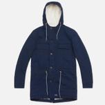 Мужская куртка Bleu De Paname Gabardine Denim Indigo фото- 0