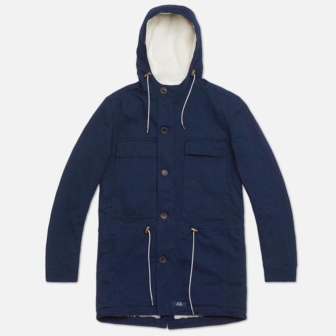Мужская куртка Bleu De Paname Gabardine Denim Indigo