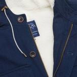 Мужская куртка Bleu De Paname Gabardine Denim Indigo фото- 2