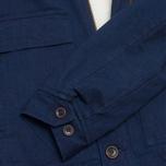 Мужская куртка Bleu De Paname Gabardine Denim Indigo фото- 3