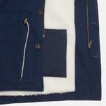 Мужская куртка Bleu De Paname Gabardine Denim Indigo фото- 4