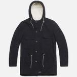 Мужская куртка Bleu De Paname Gabardine Denim Noir фото- 0