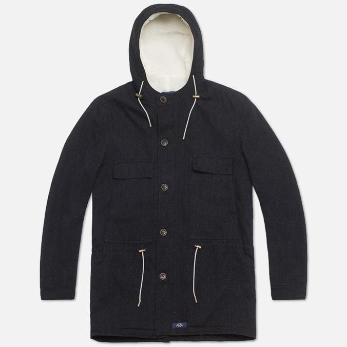 Мужская куртка Bleu De Paname Gabardine Denim Noir