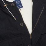 Мужская куртка Bleu De Paname Gabardine Denim Noir фото- 2