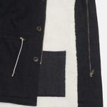 Мужская куртка Bleu De Paname Gabardine Denim Noir фото- 4