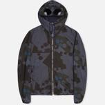 Мужская куртка C.P. Company Camo Goggle Navy/Blue фото- 0