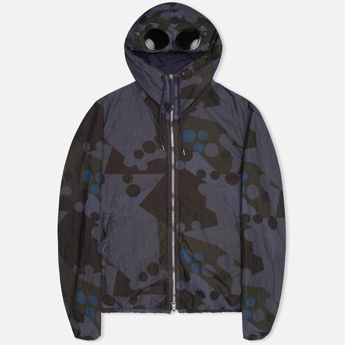 Мужская куртка C.P. Company Camo Goggle Navy/Blue
