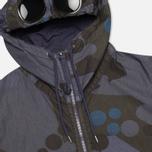 Мужская куртка C.P. Company Camo Goggle Navy/Blue фото- 2