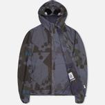 Мужская куртка C.P. Company Camo Goggle Navy/Blue фото- 1