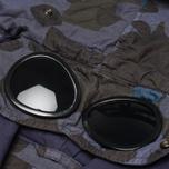 Мужская куртка C.P. Company Camo Goggle Navy/Blue фото- 5