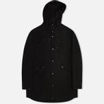 Мужская куртка парка C.P. Company Micro Kei Light Microfibre Goggle Hood Parka Black фото- 0