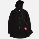 Мужская куртка парка C.P. Company Micro Kei Light Microfibre Goggle Hood Parka Black фото- 1