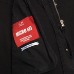Мужская куртка парка C.P. Company Micro Kei Light Microfibre Goggle Hood Parka Black фото- 5
