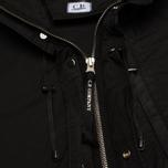Мужская куртка парка C.P. Company Micro Kei Light Microfibre Goggle Hood Parka Black фото- 3
