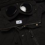 Мужская куртка парка C.P. Company Micro Kei Light Microfibre Goggle Hood Parka Black фото- 2