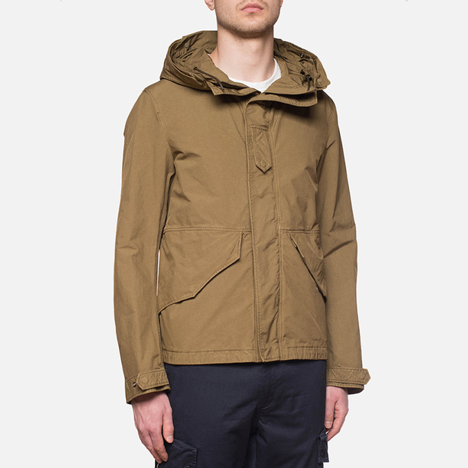 Мужская куртка C.P. Company Microfiber Mille Miglia Brown