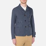 Мужская куртка C.P. Company Microfiber Watchviewer Blazer Navy фото- 0